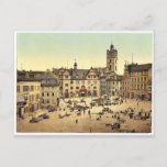 Market place, Darmstadt, the Rhine, Germany magnif Postcard