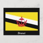 Flag of Brunei Postcard