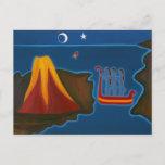 At the Messina Strait 2006 Postcard