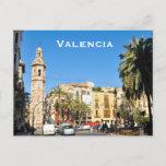 Valencia in Catalunia, Spain Postcard