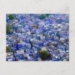 INDIA, Rajasthan, Jodhpur: Blue City of Jodhpur Postcard