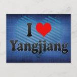 I Love Yangjiang, China Postcard