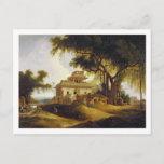 Ruins of the Naurattan, Sasaram, Bihar, 1811 (oil Postcard