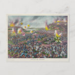 The Battle of Liaojang Russo Japanese War 1904 Postcard