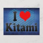I Love Kitami, Japan. Aisuru Kitami, Japan Postcard