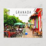 Colonial City of Granada Nicaragua Postcard