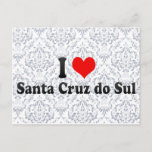 I Love Santa Cruz do Sul, Brazil Postcard