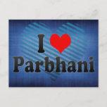 I Love Parbhani, India Postcard