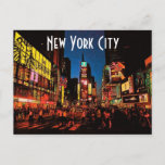 New York City (Neon) Postcard