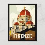 Postcard Firenze Italy Print Greetings