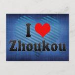 I Love Zhoukou, China Postcard