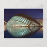 Hemispheric in Valencia Spain Postcard