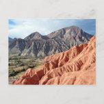 Eroded Mountain Range In Salta Province Postcard