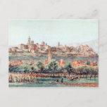 Illustration of Bergamo, Italy Postcard