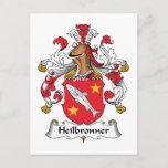 Heilbronner Family Crest Postcard