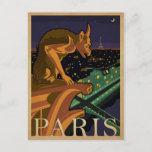 Paris - Gargoile Postcard