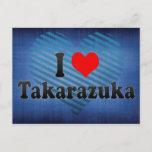 I Love Takarazuka, Japan Postcard