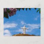 Cristo de Concordia, Cochabamba Bolivia Postcard