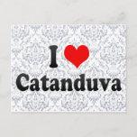 I Love Catanduva, Brazil Postcard
