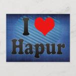 I Love Hapur, India. Mera Pyar Hapur, India Postcard