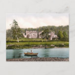 From the Tweed, Abbotsford, Scotland Postcard