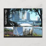 Brisbanes Beautiful Southbank Postcard