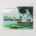 Vintage Italy, Parma, Ducal Palaceal Postcard