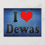 I Love Dewas, India. Mera Pyar Dewas, India Postcard