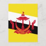 Brunei Flag Postcard