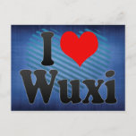 I Love Wuxi, China Postcard