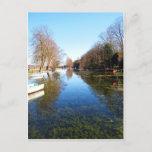 <QiYao> Peaceful Waterside on holidays Postcard