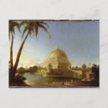 Tomb of Sher Shah, Sasaram, Bihar, c.1790 (oil on Postcard