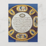Fayeme Passover Dish,by Isaac Cohen of Pesaro Postcard
