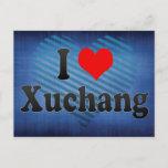 I Love Xuchang, China Postcard