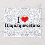 I Love Itaquaquecetuba, Brazil Postcard