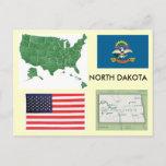 North Dakota, USA Postcard