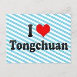I Love Tongchuan, China Postcard