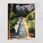 Generalife Postcard