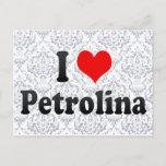 I Love Petrolina, Brazil Postcard