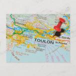 Toulon, France Postcard