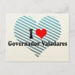 I Love Governador Valadares, Brazil Postcard