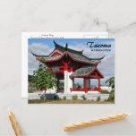 Tacoma Chinese Park Travel Postcard