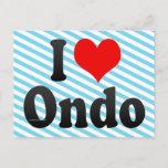 I Love Ondo, Nigeria Postcard