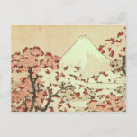 Hokusai Mt. Fuji Japanese Art Postcard