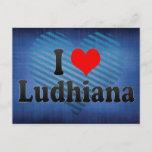 I Love Ludhiana, India Postcard