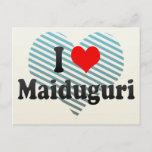 I Love Maiduguri, Nigeria Postcard