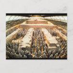 Terracotta Army, Qin Dynasty, 210 BC Postcard