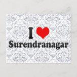 I Love Surendranagar, India Postcard