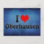 I Love Oberhausen, Germany Postcard