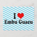 I Love Embu Guacu, Brazil Postcard